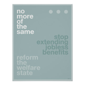 Welfare Reform Posters