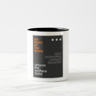 Welfare Reform Two-Tone Mug