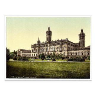 Welfenschloss, Hanover, Hanover, Germany rare Phot Postcard