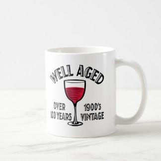 Well Aged Over 100 Years Basic White Mug