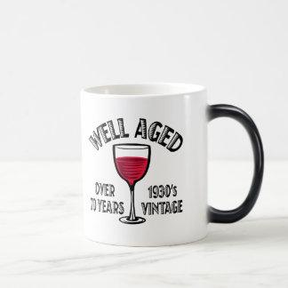 Well Aged Over 70 Years Morphing Mug