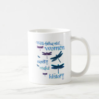 Well-behaved Dragonflies Coffee Mug