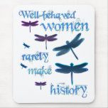 Well-behaved Dragonflies Mouse Mat
