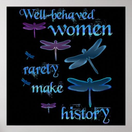 Well-behaved Women Print