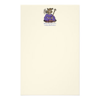 Well behaved women rarely make history personalised stationery