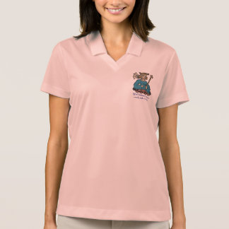 Well behaved women rarely make history, teal polo t-shirts