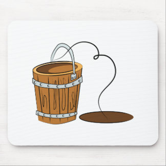 Well Bucket Mouse Pad