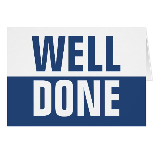 Well_done_greetings_card 137737415187424151 on Horizontal Writing Paper