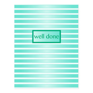 Well Done Postcard
