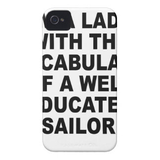 Well Educated Sailor Nerdgasm Women s T-Shirts png iPhone 4 Case-Mate Cases
