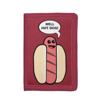 Well Hot Dog Tri-fold Wallet