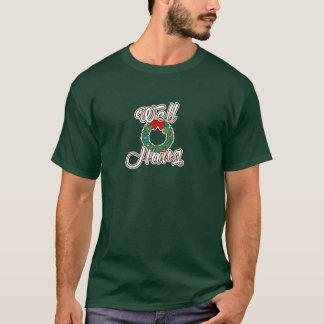 Well Hung Funny Christmas T-shirt