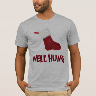 Well Hung Stockings T-Shirt