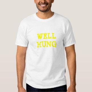 WELL HUNG T-SHIRTS