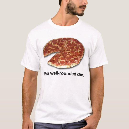 Well Rounded Diet - Front T-Shirt