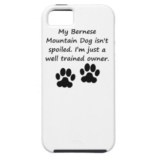 Well Trained Bernese Mountain Dog Owner iPhone 5 Cover