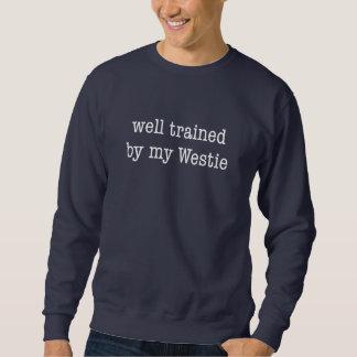 Well Trained By My Westie Sweatshirt