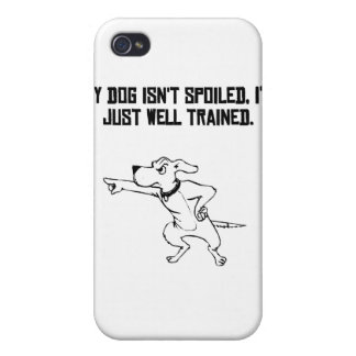 Well Trained Dog Owner iPhone 4/4S Cover