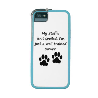 Well Trained Staffie Owner Case For iPhone 5/5S