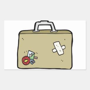 suitcase stickers labels zazzle uk