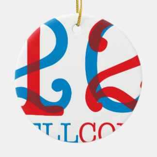 Wellcoda 2012 Apparel Numbers Crazy Year Christmas Ornament