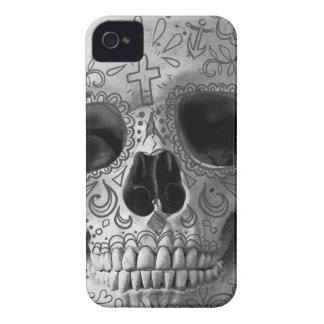 Wellcoda 3D Skull Horror Face Aztec Head iPhone 4 Cases