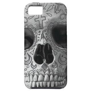 Wellcoda 3D Skull Horror Face Aztec Head iPhone 5 Cover