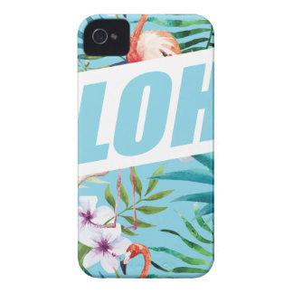 Wellcoda Aloha Summer Flamingo Holiday Case-Mate iPhone 4 Cases