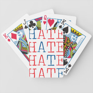 Wellcoda Always Hate Your Enemy Crazy Fun Bicycle Playing Cards