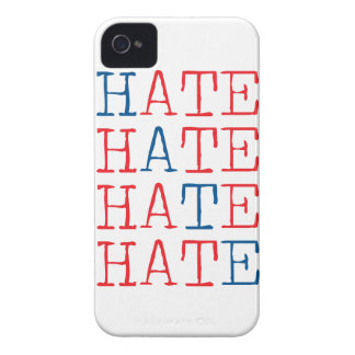 Wellcoda Always Hate Your Enemy Crazy Fun iPhone 4 Case-Mate Cases