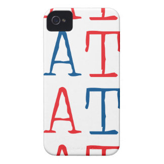 Wellcoda Always Hate Your Enemy Crazy Fun iPhone 4 Cover