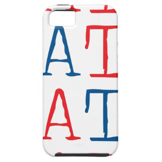 Wellcoda Always Hate Your Enemy Crazy Fun iPhone 5 Cover