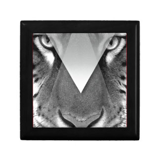 Wellcoda Amazing Tiger Cat Face Wild Life Gift Box