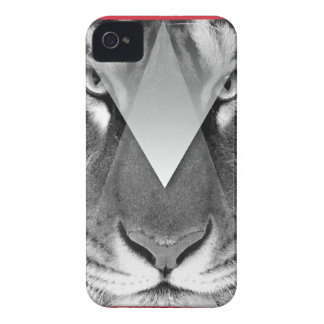 Wellcoda Amazing Tiger Cat Face Wild Life iPhone 4 Cover