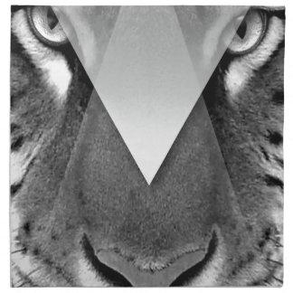 Wellcoda Amazing Tiger Cat Face Wild Life Napkin
