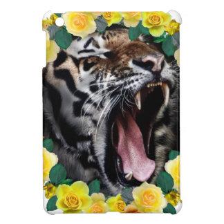 Wellcoda Amazing Tiger Growl Wild Animal iPad Mini Cover