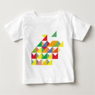 Wellcoda Amazing Triangle Print Hypnotic Baby T-Shirt