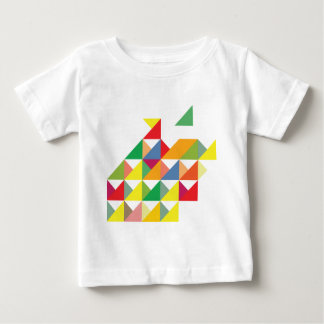 Wellcoda Amazing Triangle Print Hypnotic Tshirts