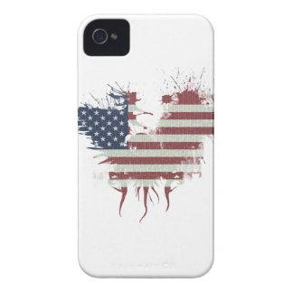 Wellcoda American Eagle Flag USA Identity Case-Mate iPhone 4 Cases