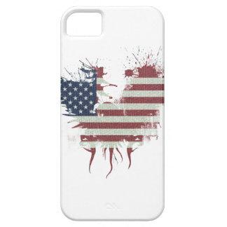 Wellcoda American Eagle Flag USA Identity iPhone 5 Cases