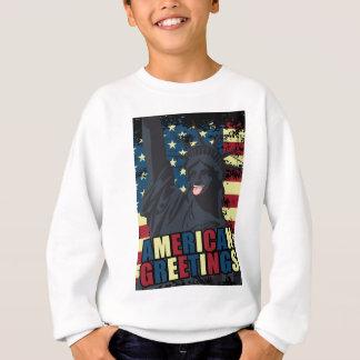 Wellcoda American Greeting Liberty Smile Sweatshirt