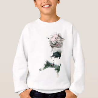 Wellcoda Animal Cat Playful Kitty Cute Sweatshirt
