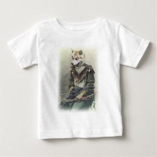 Wellcoda Animal Dog Akita Inu Bow Native Baby T-Shirt