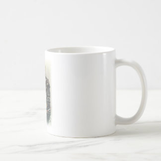 Wellcoda Animal Dog Akita Inu Bow Native Coffee Mug