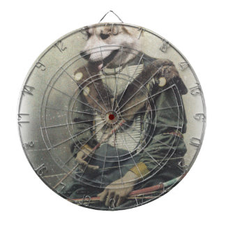 Wellcoda Animal Dog Akita Inu Bow Native Dartboard