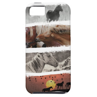 Wellcoda Animal Horse Family Wildlife iPhone 5 Cover