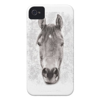 Wellcoda Animal Horse Nature Beautiful iPhone 4 Case-Mate Cases