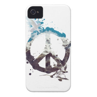 Wellcoda Animal Peace and Love Bird Life Case-Mate iPhone 4 Case