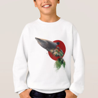 Wellcoda Animal Sealife Zoo Shark Sheep Sweatshirt
