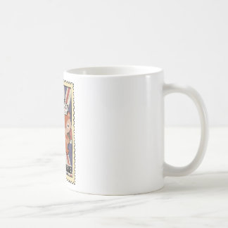 Wellcoda Animal Squirrel GB Great Britain Basic White Mug